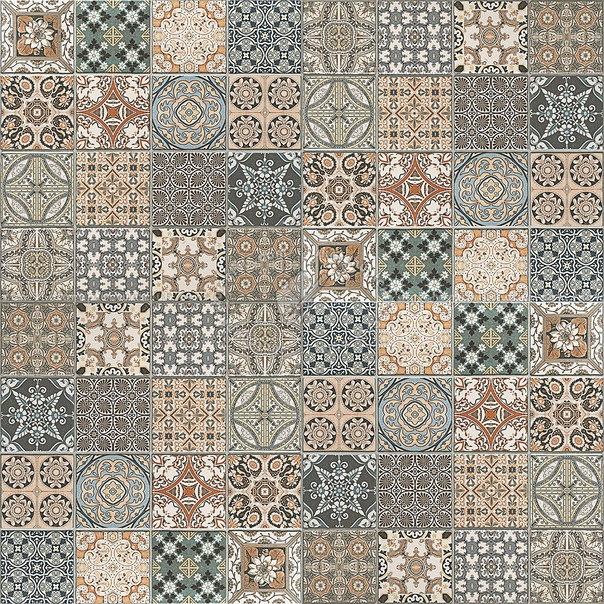 Patchwork tile texture seamless 16612 | sketchup | Pinterest