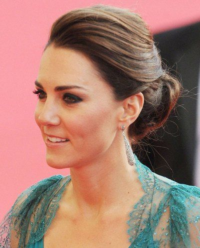 Wedding Hairstyle Kate Middleton : Check out kates pretty new updo