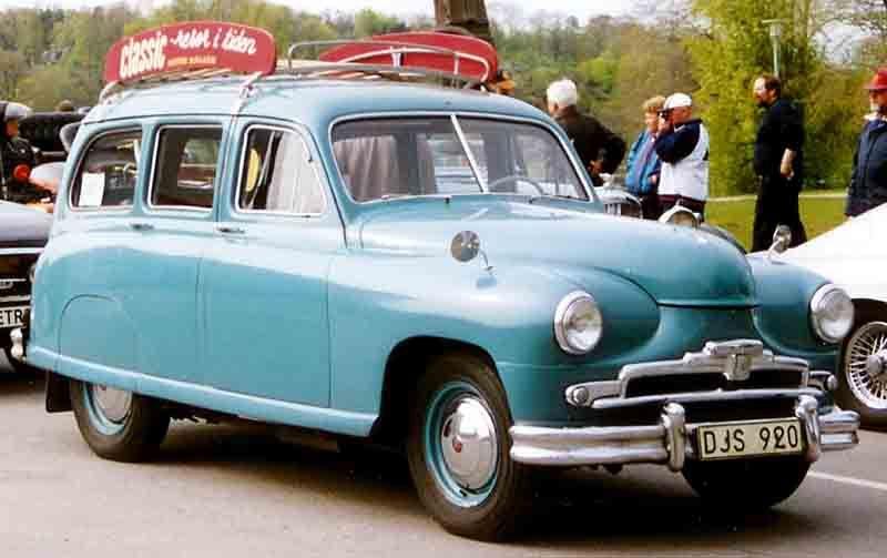 Standard Vanguard 1954 wagon