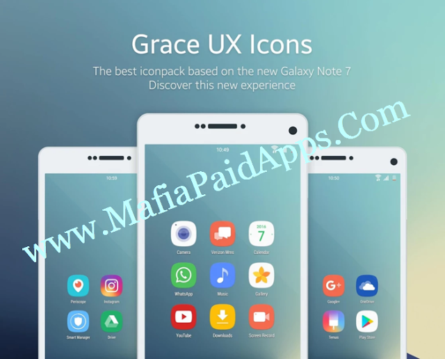 Grace UX Icon Pack v5.3.0 Apk The new icons of the new