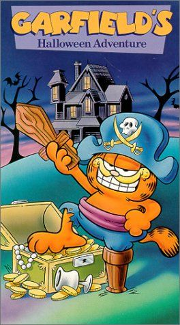 Garfield S Halloween Adventure Vhs Fox Home Entertainme Http Www Amazon Com Dp 6302541670 Ref Cm Garfield Halloween Halloween Adventure Halloween Cartoons