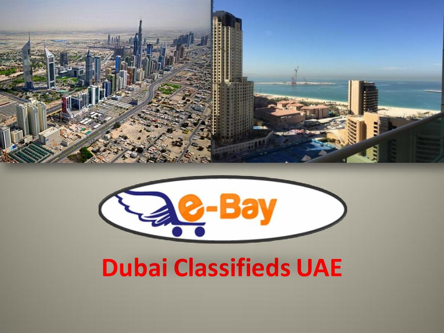 ebay.ae is one of the best Dubai Classifieds site