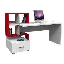 Escritorio cajon biblioteca organizador moderno for Muebles de oficina juveniles