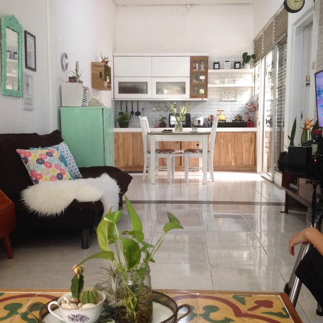 Desain Rumah Vintage Luas 60 M Yang Kekinian Bikin Nyaman Ide Dekorasi Rumah Desain Interior Desain Interior Rumah