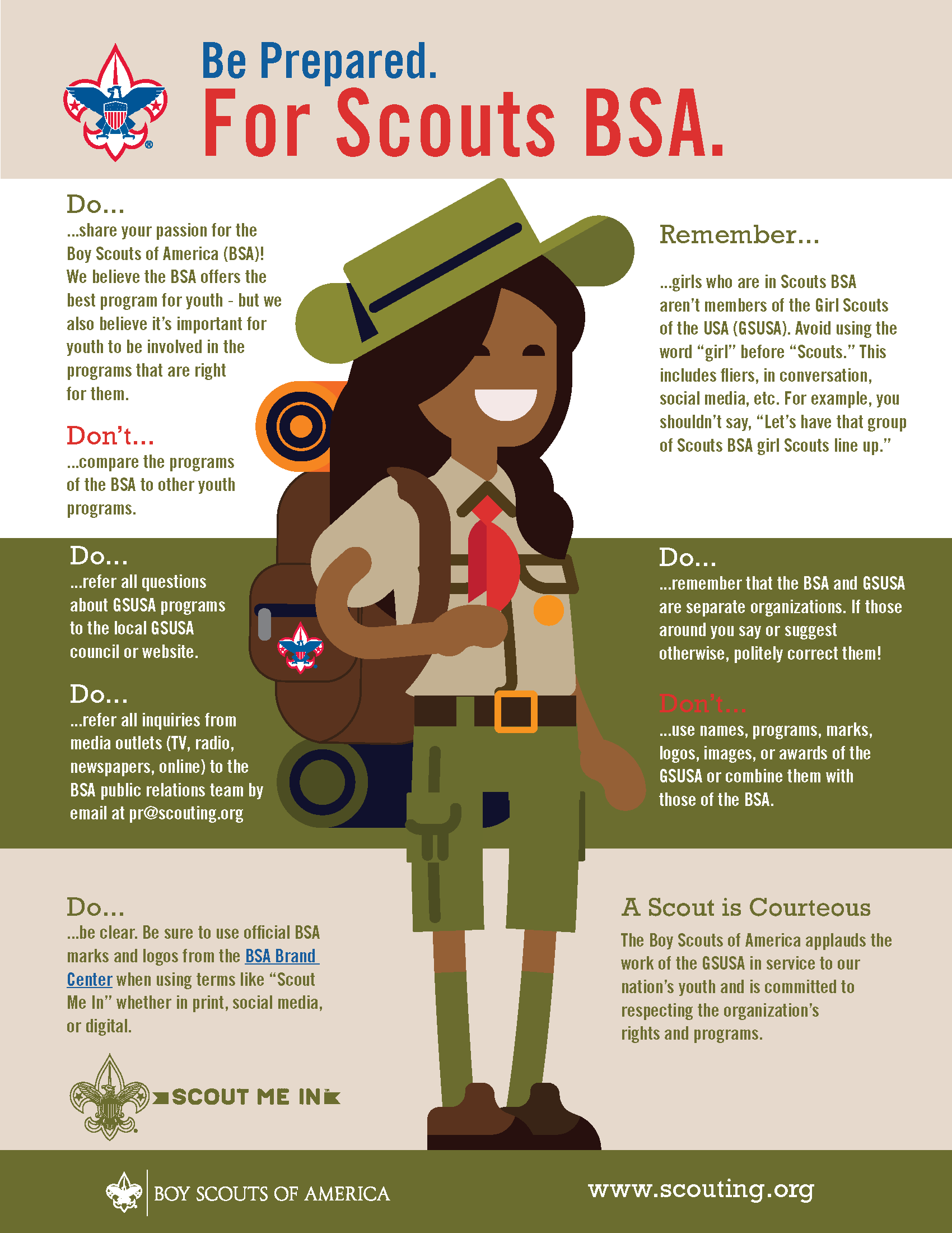 This Infographic Shows The Right Way To Refer To Girls Who