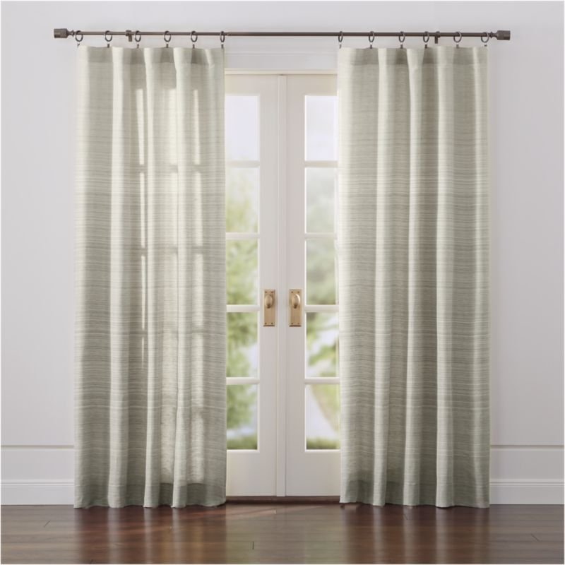 Wren Curtains Crate And Barrel Curtains Panel