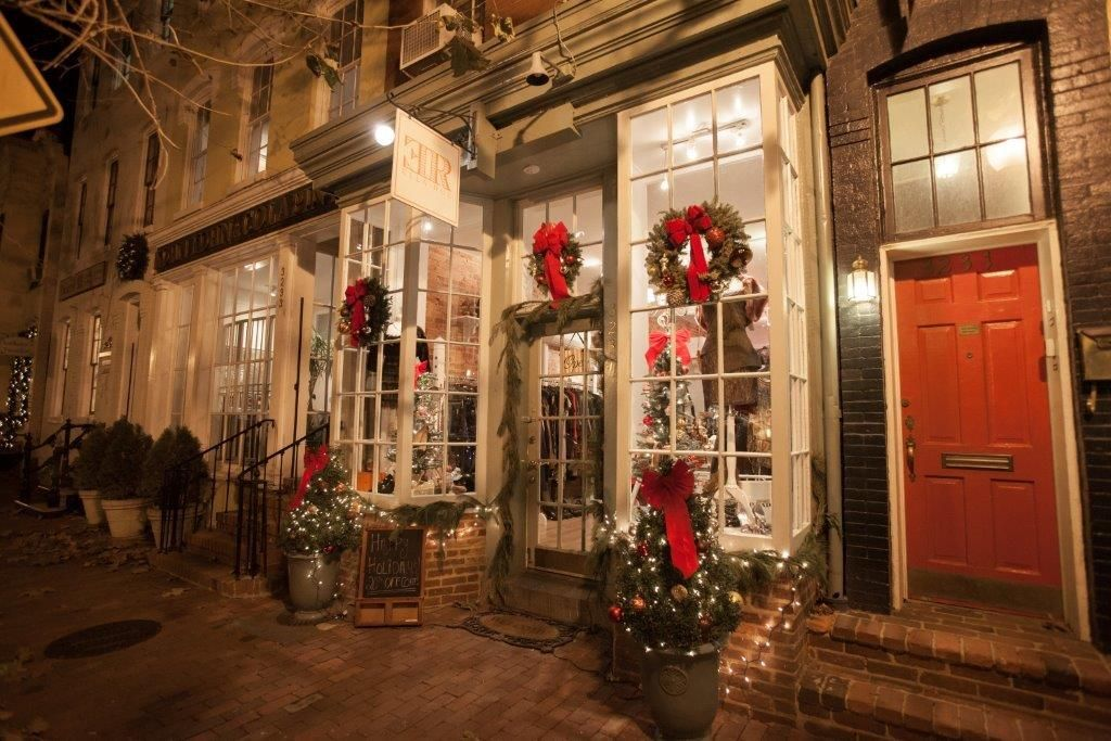 Shops like Ella-Rue, a P Street boutique in Georgetown, add to the ...