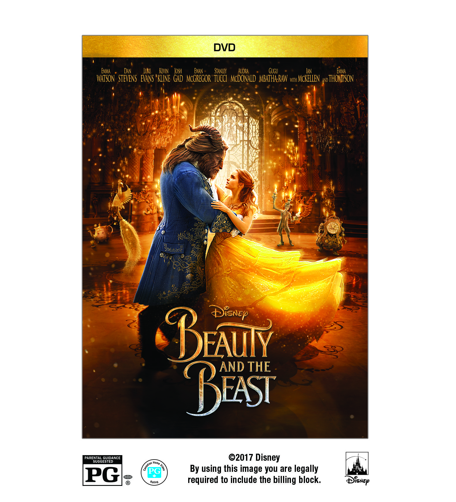 Beauty And The Beast Live Action Dvd Beast Beauty Live Shows
