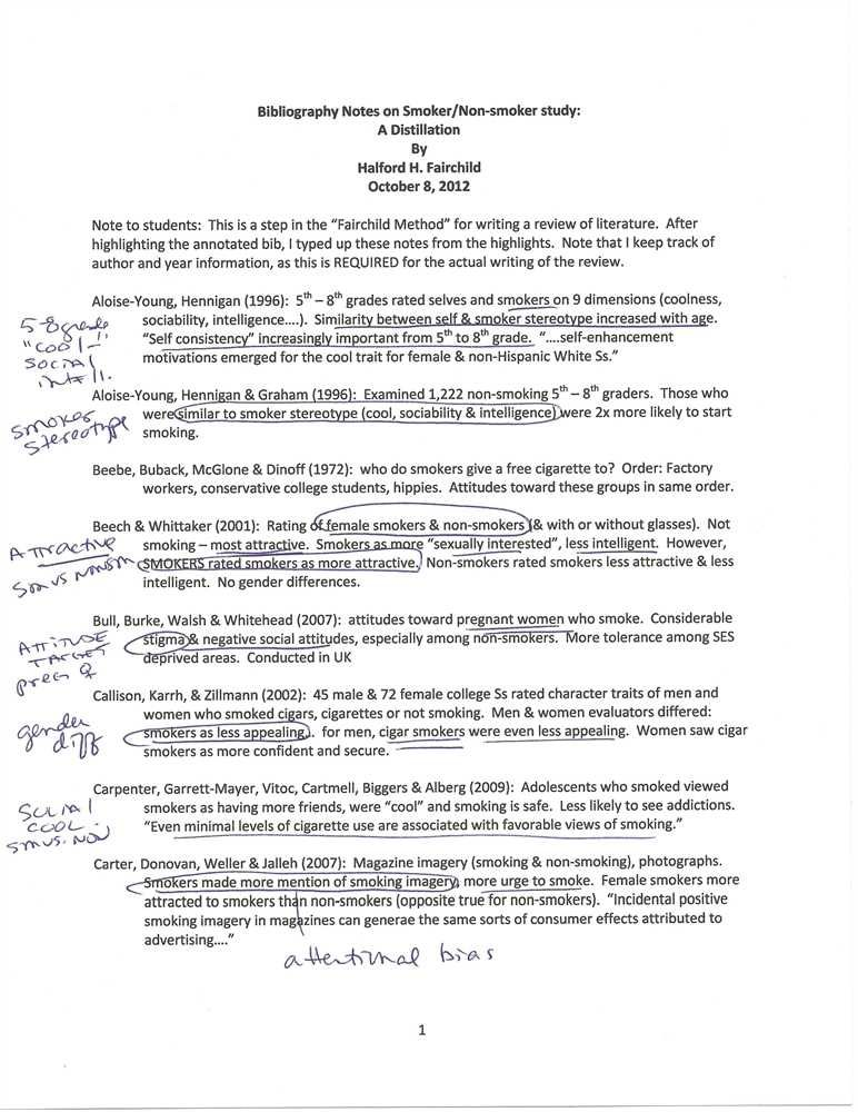 annotated reference page