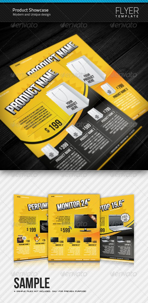 Product Flyer Templates Flyer Template Template And Print Templates