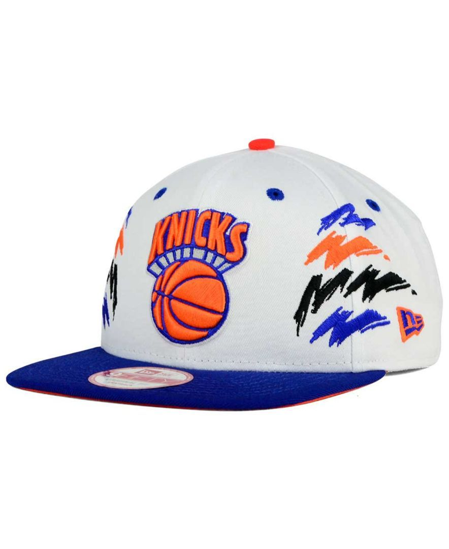987ea60eabe New Era New York Knicks Old Cool 9FIFTY Snapback Cap