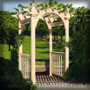 Wood Arbor From Suncast Listed At 499 On This Site 224 640 x 480