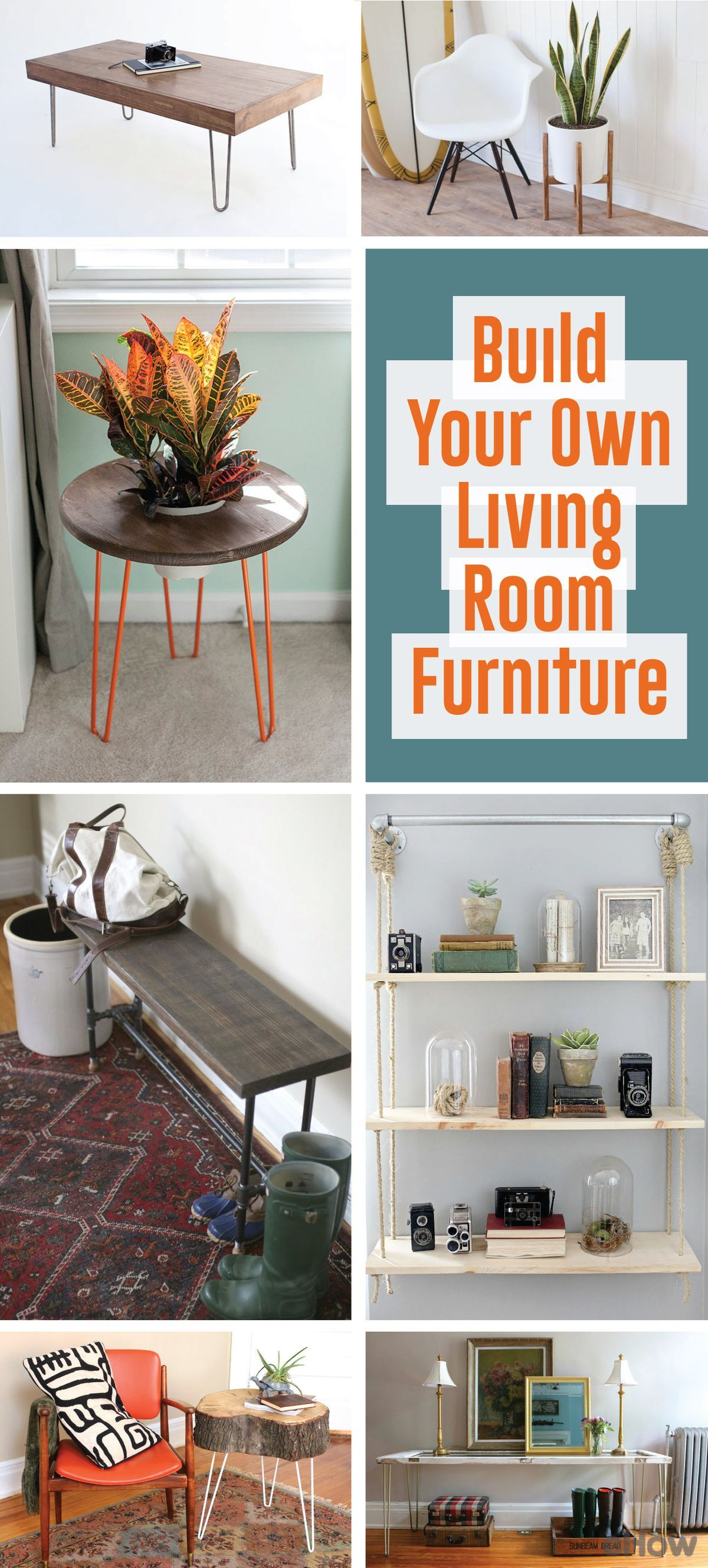 Make Your Own Living Room Furniture