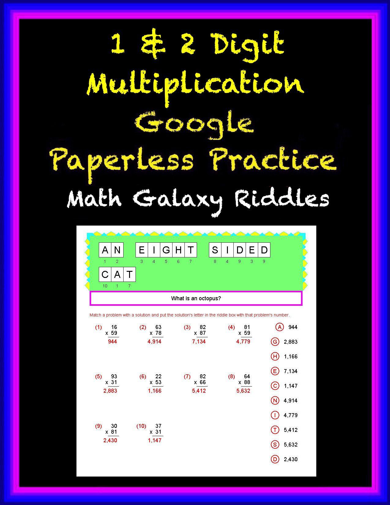 1 Amp 2 Digit Multiplication