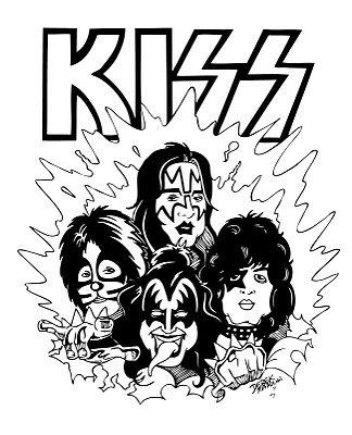 Desenho Kiss