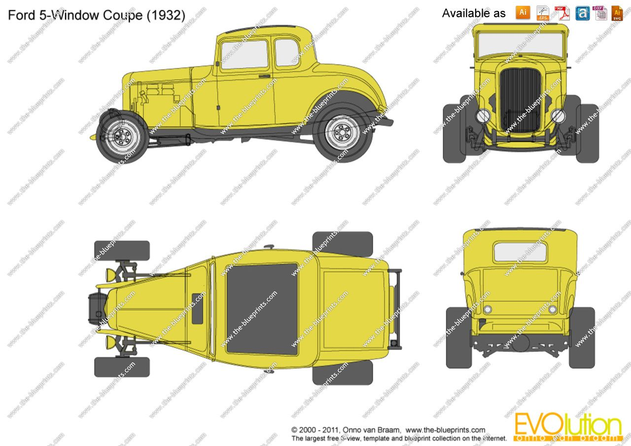 32 ford blueprint 8 cars pinterest 32 ford ford and cars 32 ford blueprint 8 malvernweather Choice Image