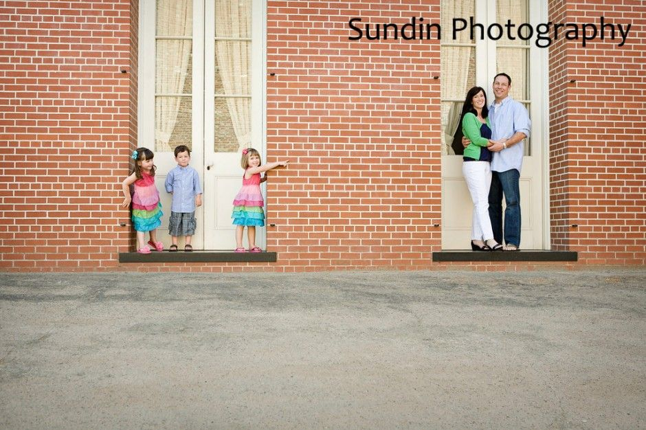 Again, pattern on kids for photo shoot is a total win to me.