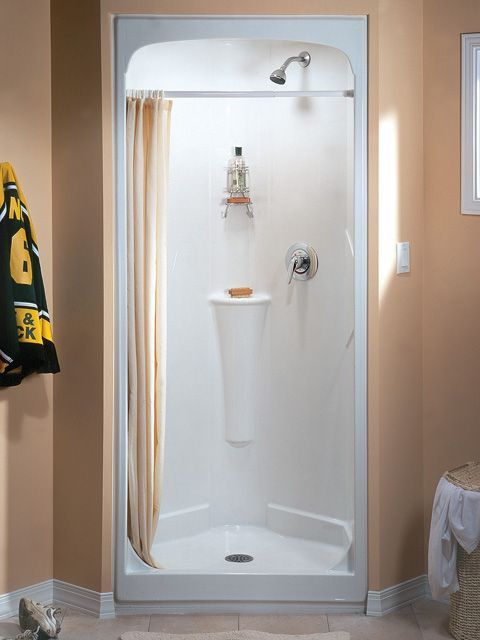 one piece corner shower. 32 Inch Shower Stall From Fiberglass  Small ShowersCorner ShowersOne Piece House Pinterest