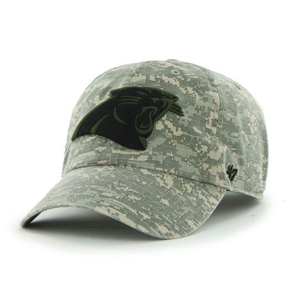 4449545685c01d Carolina Panthers Officer Digital Camo 47 Brand Adjustable Hat ...