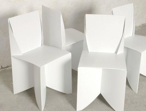 Origami origami pinterest impressionen super und raum for Stuhl design kunstunterricht