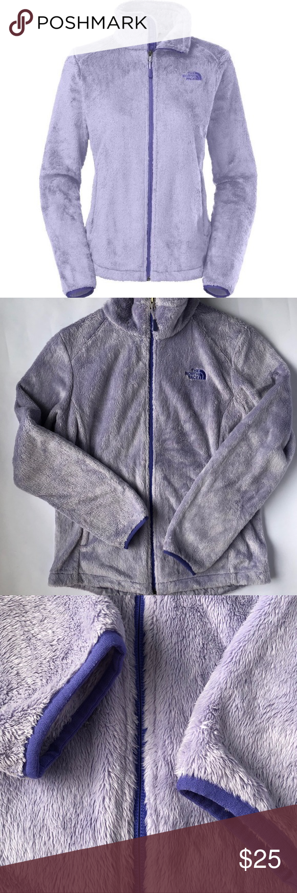 North Face Fuzzy Osito Jacket In Soft Purple M Clothes Design Soft Purple Fashion [ 1740 x 580 Pixel ]
