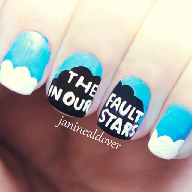 The fault in our stars nail art, Yay or Nay?