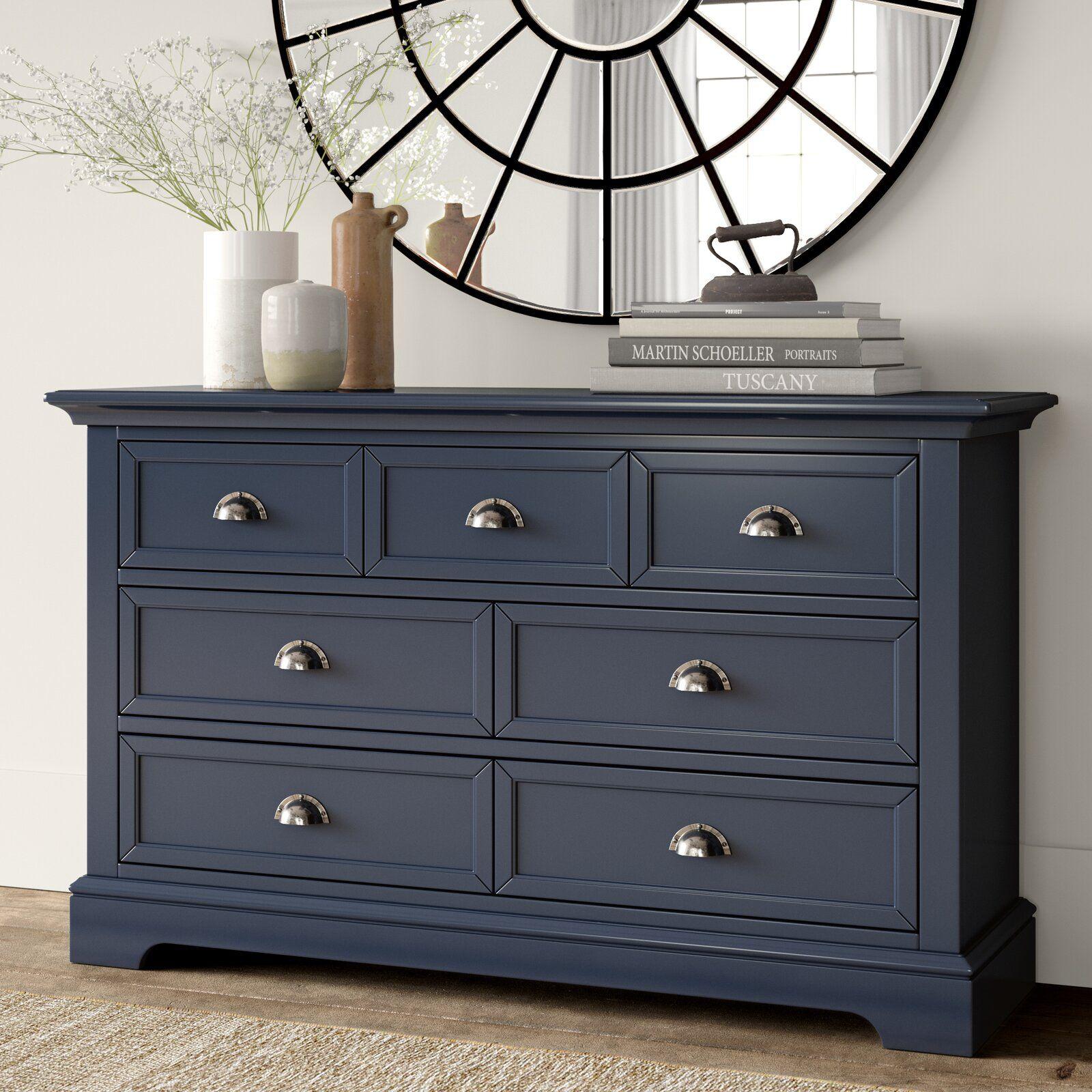 Greyleigh Appleby 7 Drawer Double Dresser Wayfair Furniture 7 Drawer Dresser Furniture Makeover [ 1600 x 1600 Pixel ]