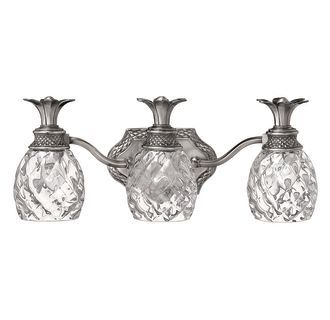 """View the Hinkley Lighting H5313 3 Light 21"""" Width Bathroom Vanity Light from the Plantation Collection at LightingDirect.com."""