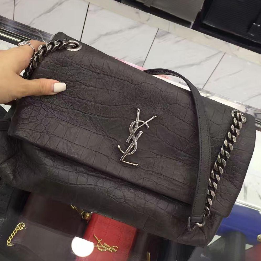 f6660d4d45c Saint Laurent West Hollywood Fold-Over Bag 100% Authentic | |YSL Handbags|  YSL Clutches| Saint Laurent