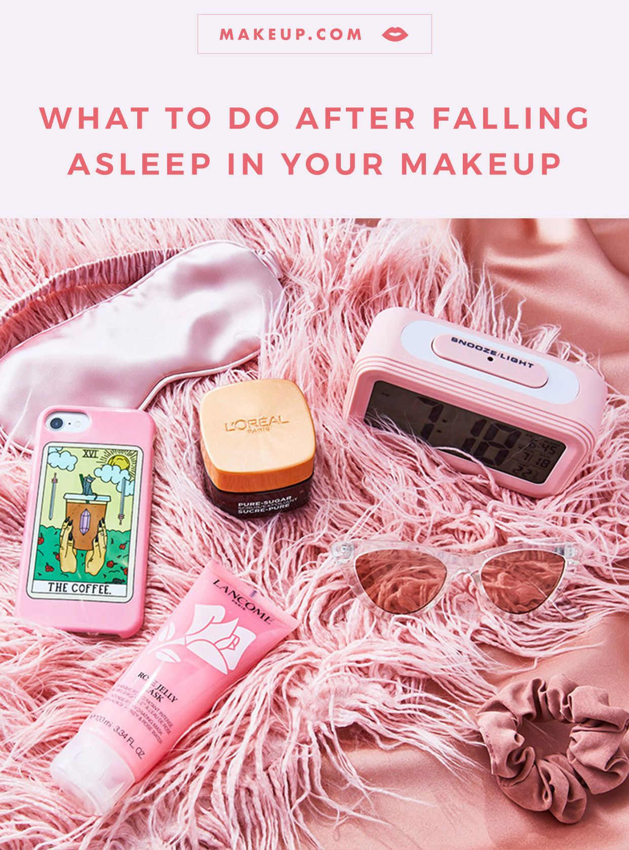 So You Slept In Your Makeup — Here's How to Recover