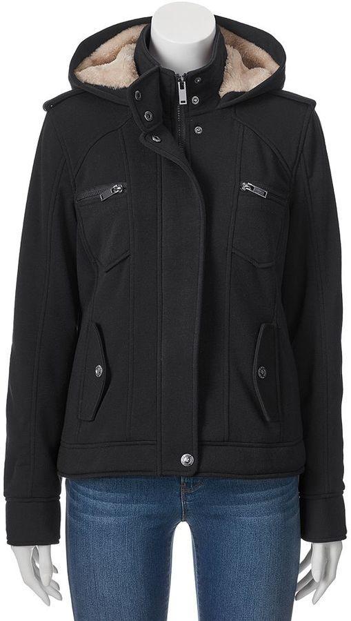 Juniors' Urban Republic Fleece Jacket   Teen Girls Jackets ...