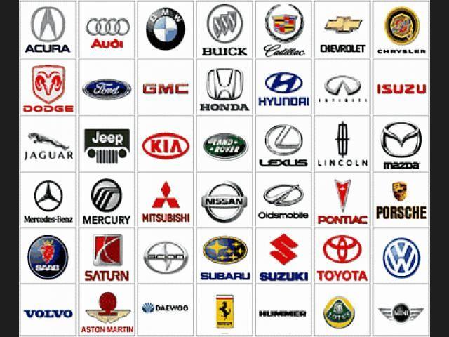 Los Principales Escudos De Las Principales Marcas De Coches Del Mundo Logotipos De Marcas De Coches Insignias De Coches Mecanico De Autos
