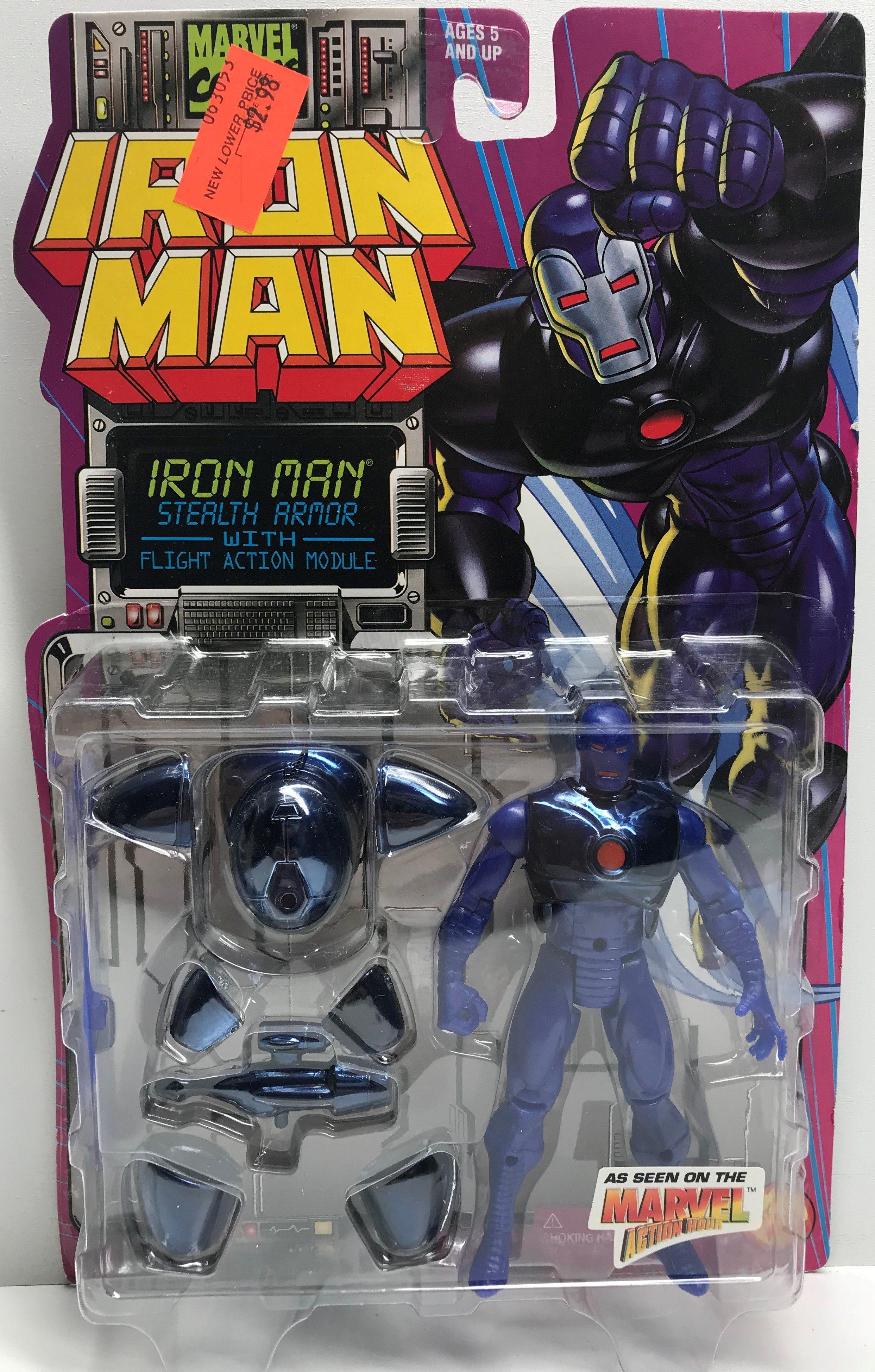 Dreadknight w// Firing Lance Iron Man Marvel ToyBiz 1995 Action Figure NEW