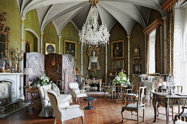 music room gothic revival - Google Search