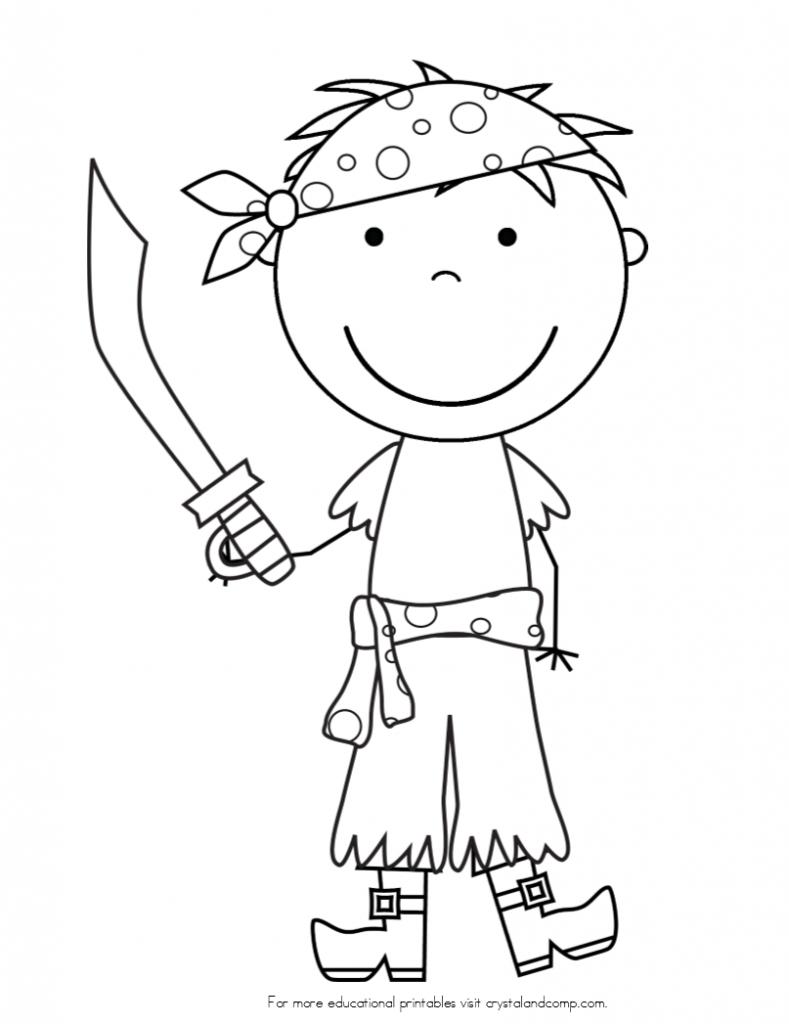Pirate Color Pages for Kids!   Pinterest   Pirat, Ausmalbilder und ...
