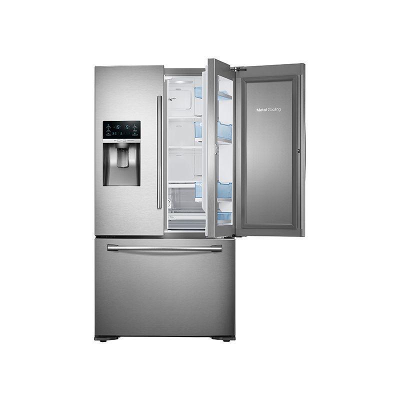 Samsung RF23HTEDB 23 Cu. Ft. Capacity 36 Inch Wide Counter Depth ...