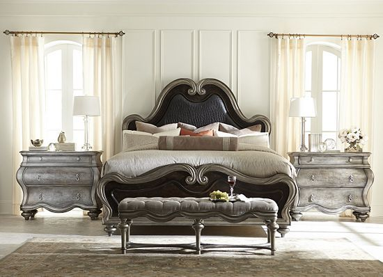 Even Your Dreams Will Be #glamorous In This Stunning #havertys Angelina Bed.