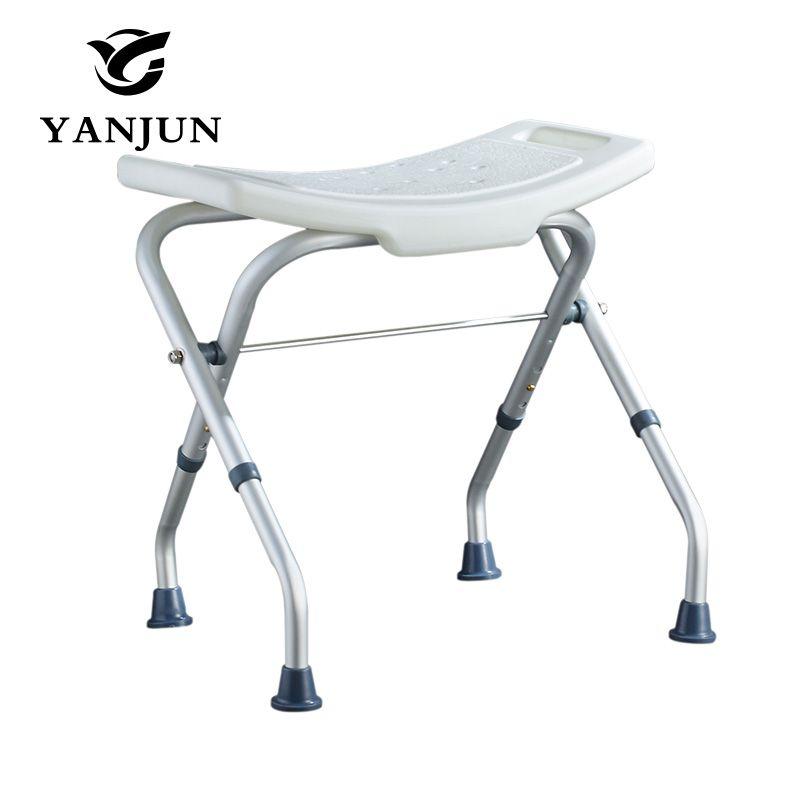 grey bathroom safety shower tub bench chair folding stand yanjun bath and seat saving space yj 2052a