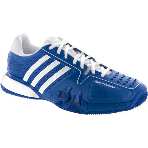 Adidas Barricade 7 Clay: Adidas Men's Tennis Shoes Bluewhite