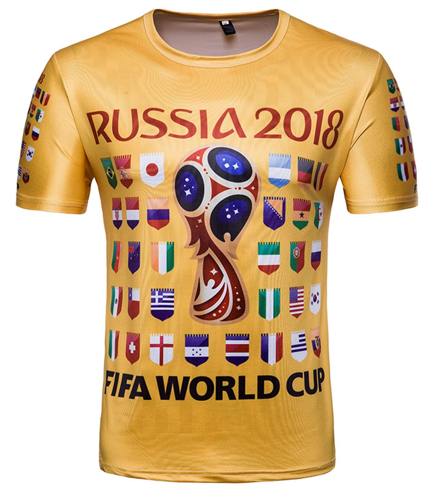 FIFA Mens Russia 2018 Logo Tees