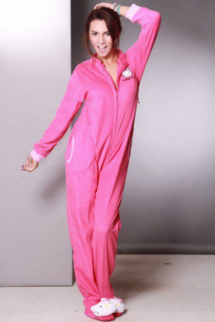 69fd5199c Fuchsia Zip Up Long Sleeves Hello Kitty Onesuit Outfit @ Amiclubwear  Outfits Clothing online store sales:Sexy Outfit,Jumpsuit,Catsuit,School  Girl Outfit ...