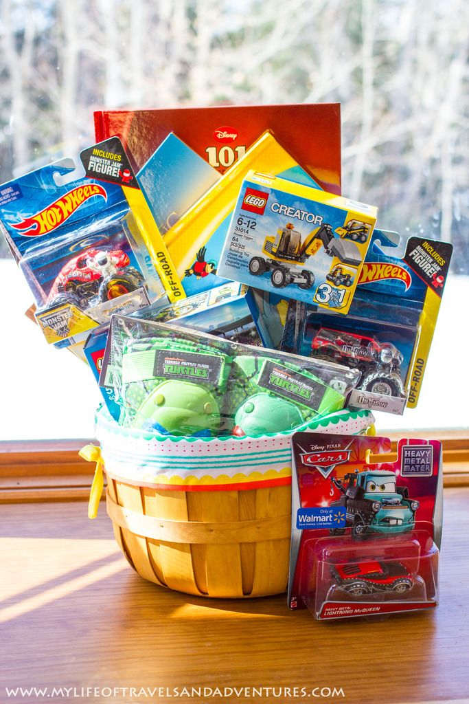 Easter basket ideas for 7 year old boy bellaitaliaterneuzen easter basket ideas for 7 year old boy negle Choice Image