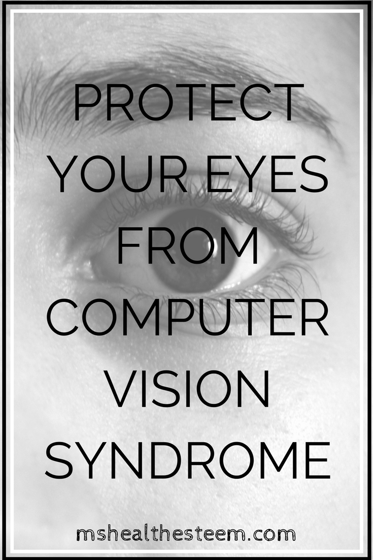35694d49e95 Protect Your Eyes from Computer Vision Syndrome - A Helpful infographic to  help protect your vision health