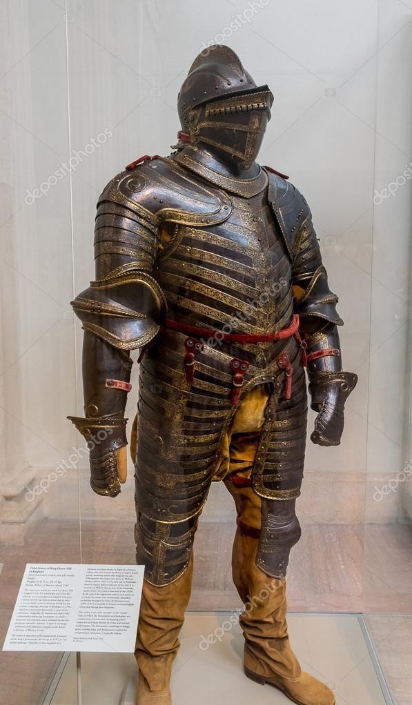 ヘンリー8世の鎧   ヘンリー 8 世, 鎧