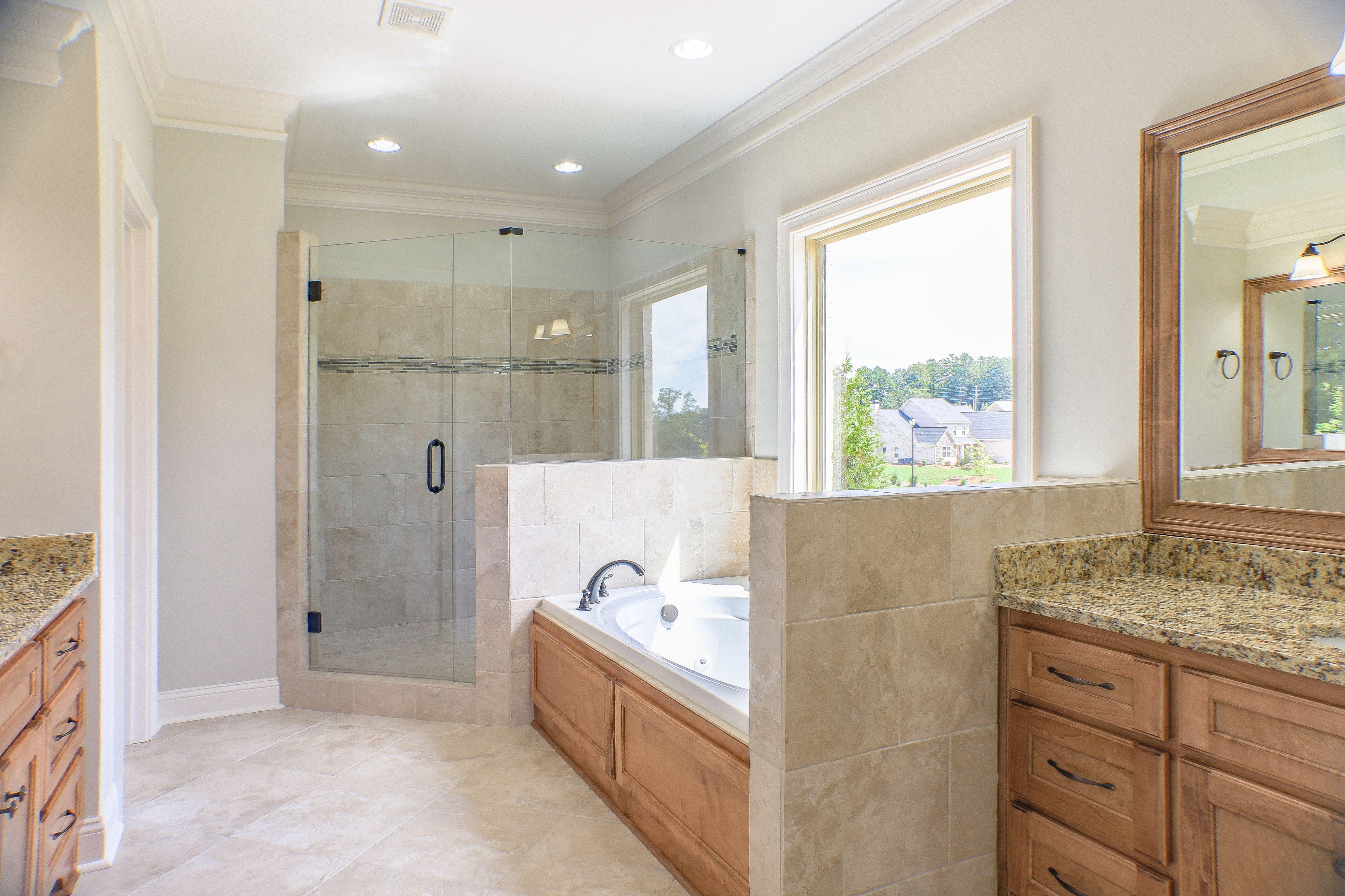 Master Bath Granite Countertops Natural Stone Tile Custom