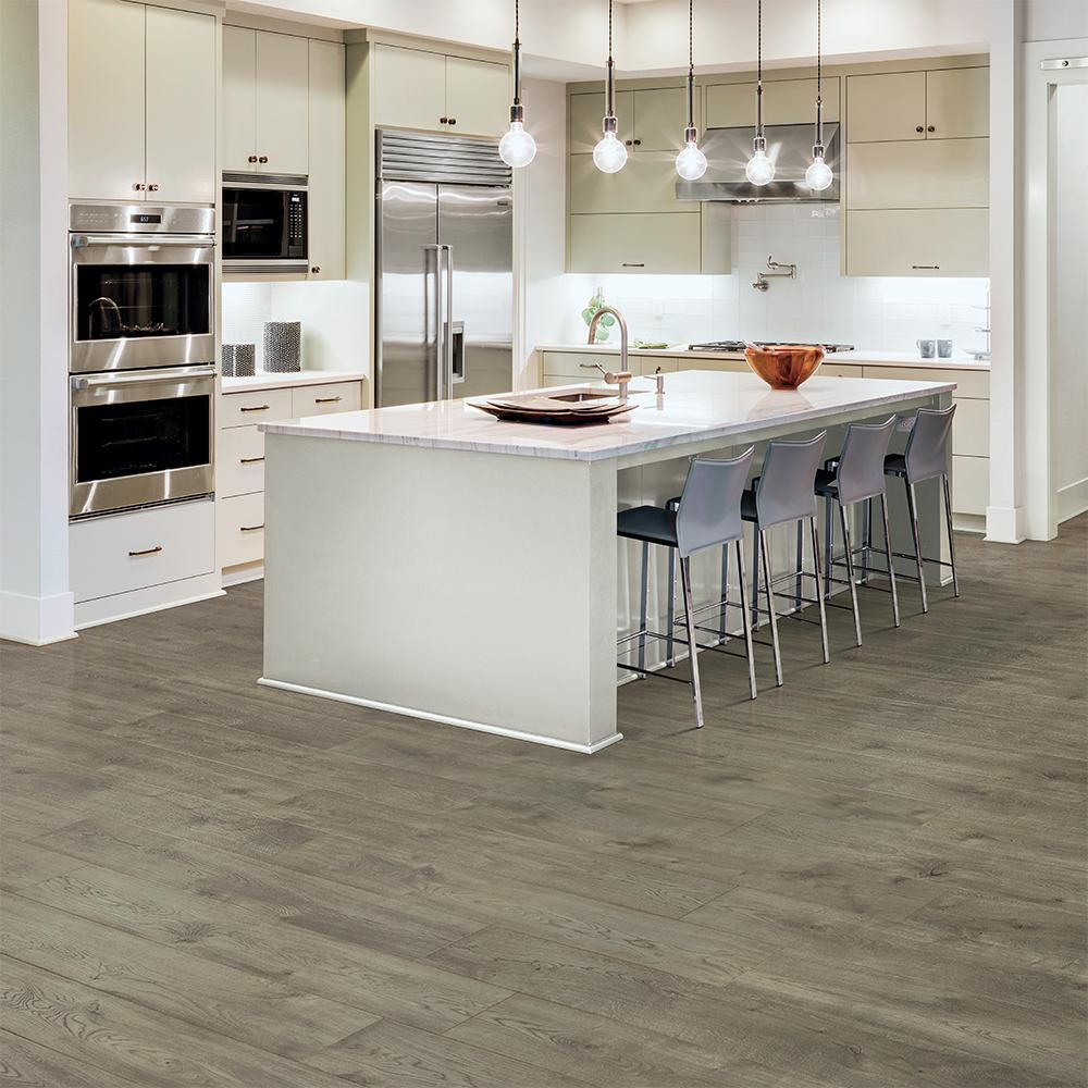 Pergo Take Home Sample Stone Bay Oak Laminate Flooring