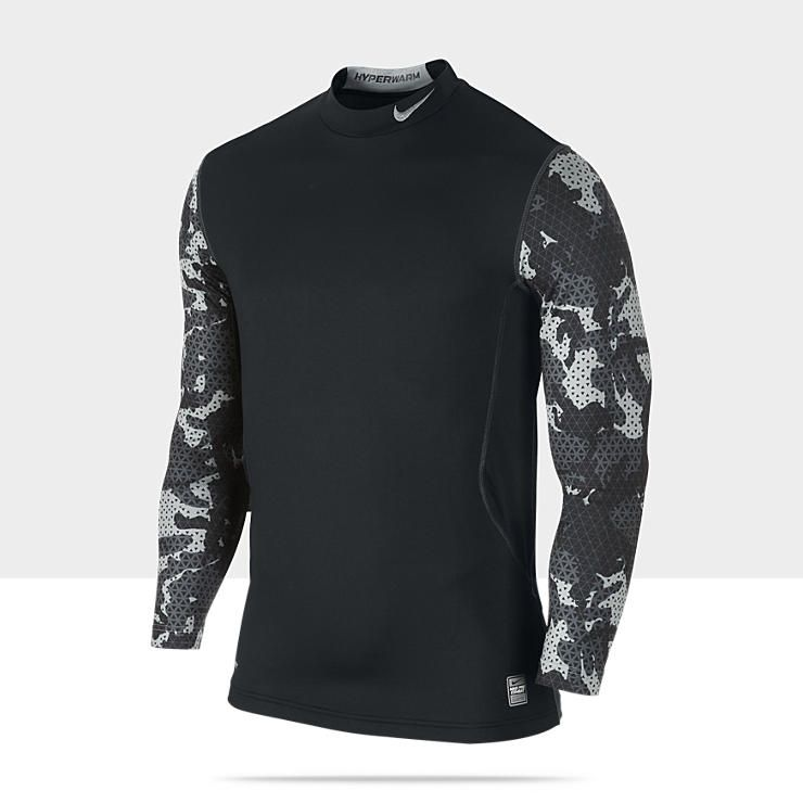 9efc5bbb22ede Nike Pro Combat Hyperwarm Dri-FIT Max Fitted Men's Shirt I need one of  these anyway lol hint hint