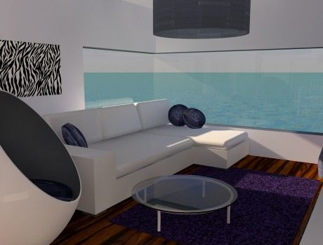 Interior Design in #3D (#Cinema4D). My first ever project in Cinema 4D. Learning while doing was the key here.