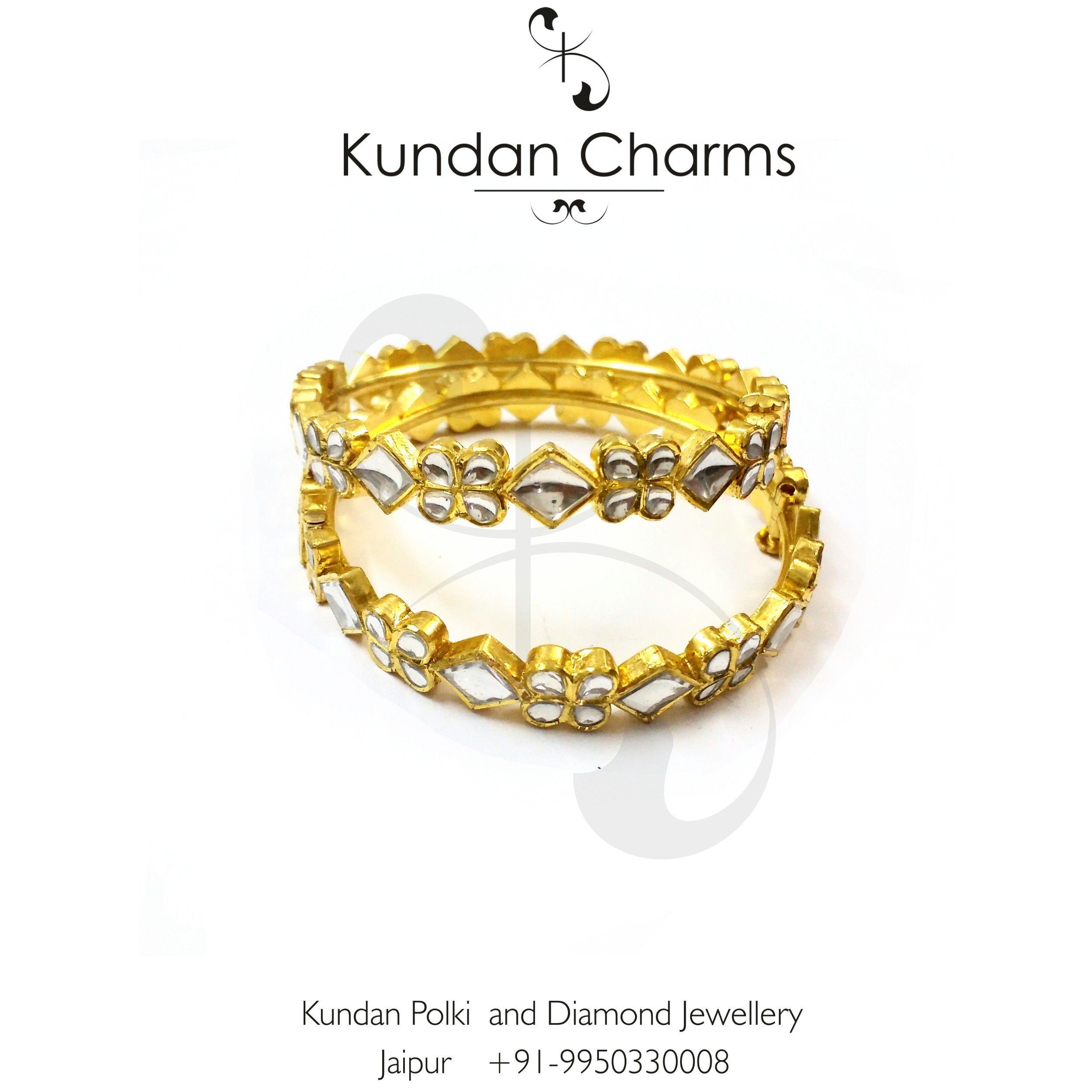 Kundan Polki Bangles, ready to wear.... #bangles #cuffs #bracelet #bracelets #kundancharms #instagram #jewelry #jewels #fashion #bling #trendy #accessories #love #beautiful #style #instagood #accessory #instajewelry #stylish #cute #jewelrygram #fashionjewelry #instapic #instadaily #instalike #igdaily #igersoftheday  #braceletstacks #trendy