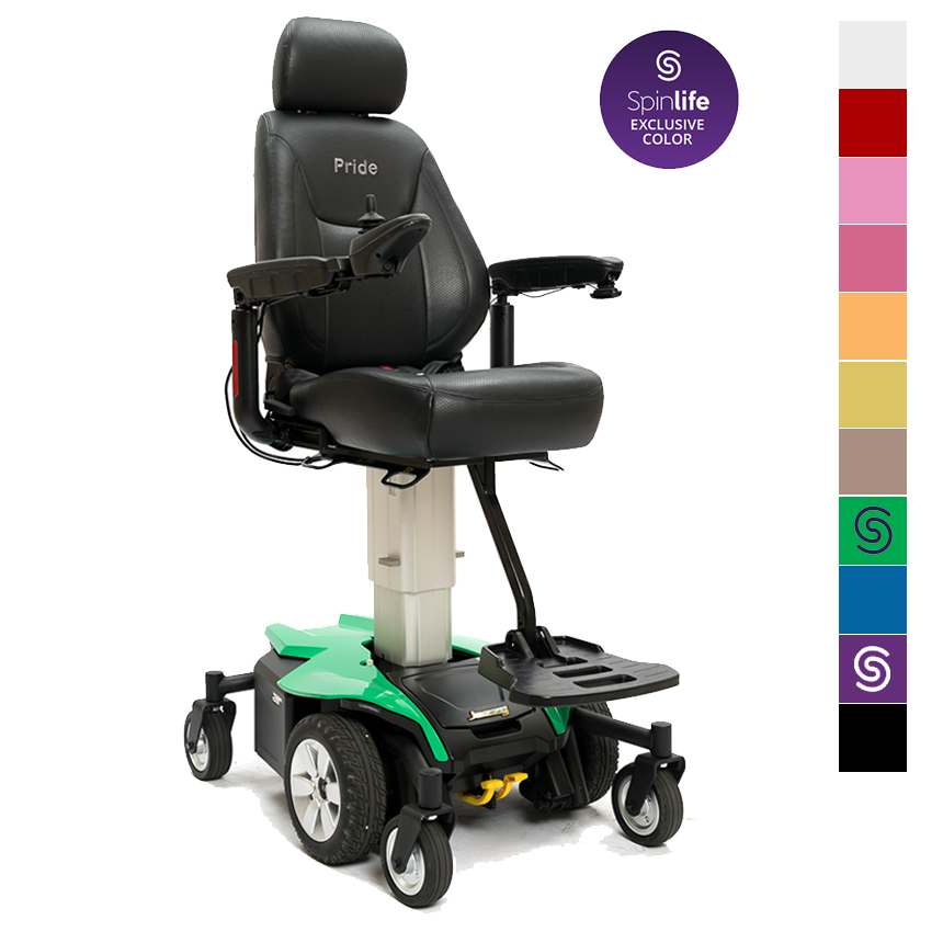 Jazzy Air Power Wheelchair By Pride Mobility Shown In Spinlife